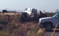 Dallas Cowboysi jalgpallimeeskonna buss tegi raske avarii, neli inimest hukkus