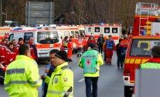 FOTOD: Lõuna-Saksamaal toimus rongide kokkupõrge, on hukkunuid