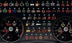 Paras peavalu: Mida tähendavad need märgid auto näidikupaneelil