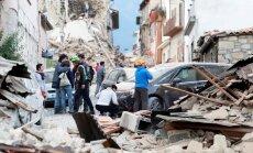 Itaalia Amatrice linna raputas järjekordne tugev maavärin
