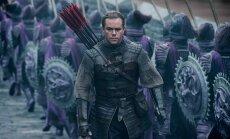 """TREILER: Matt Damon võitleb koletistega Hiina kõige kallimas fantaasiafilmis """"Suur Hiina müür"""""""