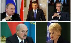 Миллион в банке и ипотечный кредит. Сколько зарабатывают президенты Балтии, России и Белоруссии