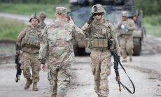 USA sõjaväelased harjuvad Eesti eluga: kartulid, kurk pitsa peal ja karud polügoonil