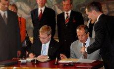 2005. aastal kirjutasid piirilepingule alla Urmas Paet ja Sergei Lavrov, samad mehed teevad seda uuesti ka üheksa aastat hiljem