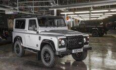 Land Rover Defender on surnud. Uuestisünd on kavandatud aastasse 2017