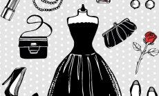 5 uut võimalust, kuidas kanda väikest musta kleiti