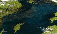 Ka Läänemere saared on ülalt vaadates rohelised, kuigi meres vohab sinine sinivetikas.
