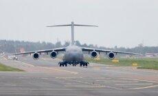 PILTUUDIS: USA õhujõudude lennuk maandus Tallinnas