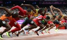 Usain Bolt ja Tyson Gay stardis