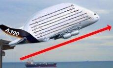 VÕIMAS! Vaata, millised näevad välja kõige suuremad lennukid maailmas!