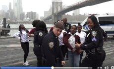 """Sobimatu või naljakas? Rahvusvaheline """"politseioperatsioon"""" hämmastas sotsiaalmeediat tobeda tantsuga"""