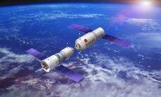 Nagu silgud pütis: Kaks meest juba kaks nädalat Hiina kosmosejaama pardal