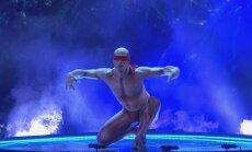 """Viktor Kee, """"Ameerika talendi"""" võistleja Ukrainast."""