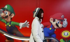 Reklaamid Tokyos. Nintendo tulevikusuund ajab segadusse isegi ettevõtte populaarsed mängutegelased Super Mario ja Luigi.