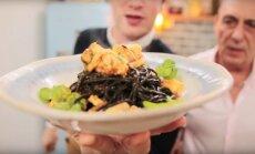 KIIRE ÕHTUSÖÖGI SOOVITUS: Mustade spagettidega langustiinipasta