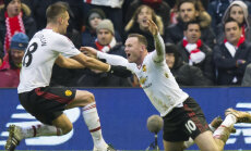 Wayne Rooney juubeldab