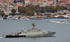 """Rootsis nimetatakse Läänemerele saabunud Vene raketilaevu """"mängu pöörde toojateks"""""""