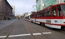 Avarii tõttu trammiteel trammid seisavad