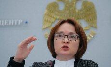 Venemaa keskpank avaldas naftahinna ootuse