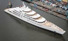 Maailma kümme kõige suuremat jahtlaeva, omanikeks kõiksugu šeigid ja Vene oligarhid