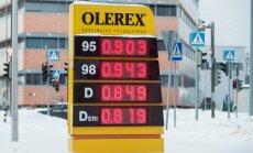 Kütuse hind 2016.01.16