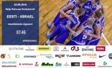 TÄISPIKKUSES: Eesti korvpallikoondis kohtus koduse turniiri teisel päeval Iisraeliga