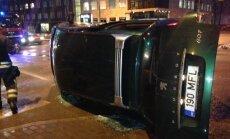 Liiklusõnnetus Tartu mnt. ja Kreutzwaldi tänava ristmikul
