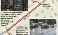 DELFI GRAAFIK: Veokijuht ei märganud auto alla jäänud koolipoissi