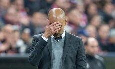 Müncheni Bayerni peatreener Pep Guardiola on taas löödud.