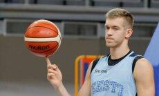 Eesti korvpallikoondise treening Lublinis