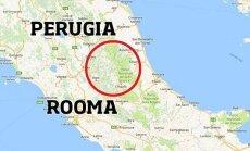 Itaaliat raputas 6,2-magnituudine maavärin, milles hukkus vähemalt kaks inimest