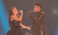 KUULA: Kas siit tuleb võit? Soomlanna Saara Aalto laulis Adam Lambertiga ülivõimsa dueti