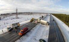 Tänu teehooldusnõuete karmistumisele pole mullu jaanuaris Jõelähtmel libeduse tõttu juhtunud13 auto ahelavarii kordumist loodetavasti enam karta.