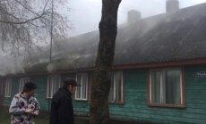 VIDEO: Türi sotsiaalmajas puhkes tulekahju