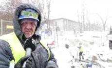 VIDEO: Töötegijad talvekülmas: termos kaasas, soojad riided seljas ja -30 külmakraadiga välja ei tule!