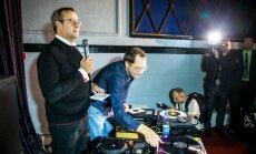 President Ilves astub DJ-na üles Helsingis