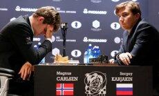 Magnus Carlsen, Sergei Karjakin