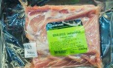 Vastavalt VTA korraldusele paneb Rakvere lihakombinaat kolmandast tsoonist pärit sigadelt saadud lihale peale erimärgistuse kolmnurkse tervisemärgi näol, mis näitab, et liha on läbinud erikontrolli ning on tarbija jaoks täiesti ohutu ja kvaliteetne.