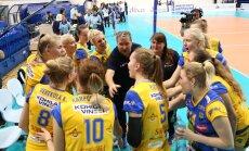 Esimese Eesti võrkpallinaiskonnana Meistrite liigas osalev Kohila VK pääses esimesest eelringist edasi.
