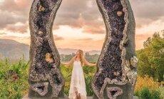 Tõeline paradiis kõigile kristallisõpradele! Austraalias asub loss, kust leiab tohutusuured sätendavad kivikesed