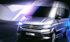 Isutekitaja: Volkswagen jagab vihjeid uuest Crafterist