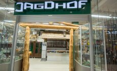 Jagdhofi esindusliku poe uksed Ülemiste kaubandus-keskuses on n-ö emafirma makseraskustest hoolimata klientidele avatud.