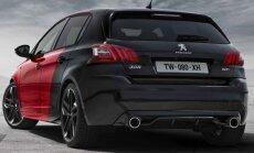 PROOVISÕIT: Punane ja must Peugeot 308 GTi, saadaval vaid võimsamas variandis