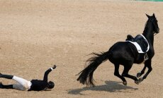 Мгновенная смерть! Литовский конник скончался после падения с лошади