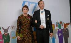 Riigikogu liige Tatjana Jaanson ja riigikogu liige Jüri Jaanson