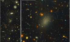 Astronoomid avastasid kummitusliku tumeainegalaktika