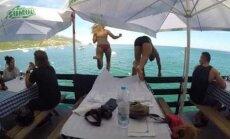 VIDEO: Eestlanna lõunasöök Portugali restoranis lõppes vägagi vesiselt!