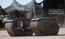 Kaitseväelased testisid Kevadtormil Milremi roomiksõidukit