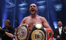 Tyson Fury pärast Klitško alistamist