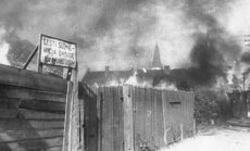 Tulekahjud Võrus, 1944, punaarmee pealetung